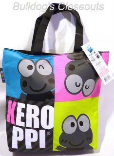 Keroppi Sanrio Frog Super Cute Tote Bag Carry School Books Crafts