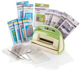 CUTTLEBUG** Die Cutting and Embossing Machine with Assorted