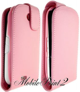 Genio Touch Pink Leather Case Cover GT 3650 Pouch Back Hot Flip