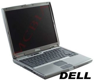 Dell Latitude D610 14 Laptop Pentium M 1 6GHz 1GB 30GB XP CD RW DVD