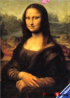 Jigsaw Puzzles 1000 Pieces Mona Lisa Ravensburger