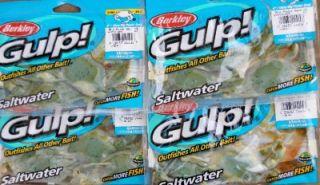 Gulp Saltwater 4 Rig Peeler Crab Fishing Lures T Js Tackle