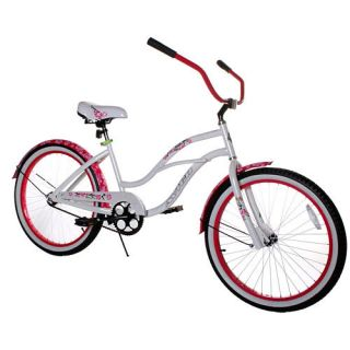 New 24 inch Cruiser Bike Come in All of Todays Coolest Styles Girls