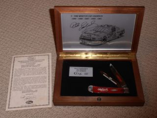 Dale Earnhardt Sr CASE COLLECTOR KNIFE NASCAR 2000 RARE 1991 CUP