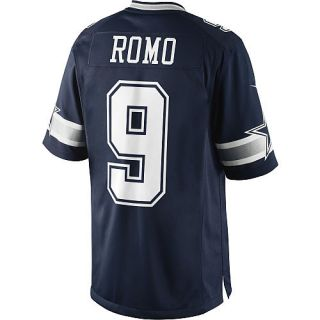 Dallas Cowboys Tony Romo Mens Limited Jersey Sewn on Numbers