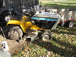Cub Cadet Lawn Tractor Model 1811 w Snow Blower 46 Mower Deck
