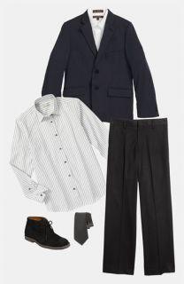 C2 by Calibrate Jacket, Dress Shirt & Pants (Big Boys)