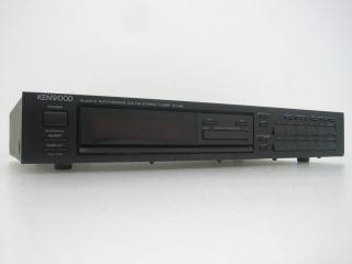 Kenwood Quartz Synthesizer AM/FM Stereo Tuner KT 88