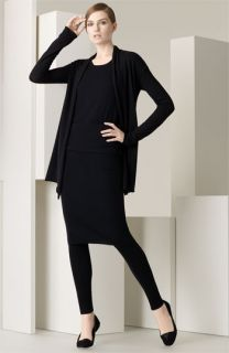 Donna Karan Collection The Cashmere Collection Tee, Cardigan, Skirt & Leggings