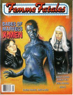 Babes of Marvels XMen Claudia Jennings Amanda Tapping Anna Paquin