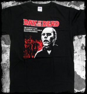 Day of the Dead   Darkest Day of Horror t shirt   Official   FAST SHIP
