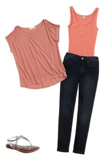 Soprano Top & Joes Skinny Jeans (Big Girls)