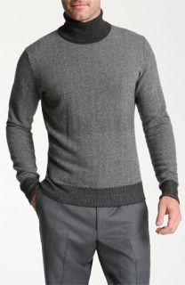 Canali Merino Wool & Cashmere Turtleneck Sweater