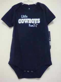 Dallas Cowboys Little Cowboys Fan Onsie Very Cute