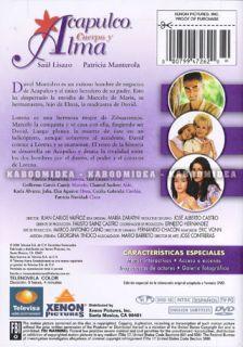 title acapulco cuerpo y alma format dvd ntsc actors patricia
