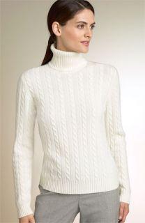 Lauren by Ralph Lauren Cashmere Cable Sweater