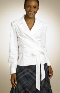 Jones New York Signature Stretch Wrap Shirt