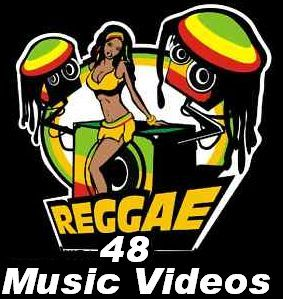 Lot of Reggae Love Dancehall 48 Music Videos DVD