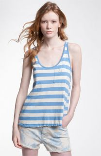 Current/Elliott Striped Pocket Tank