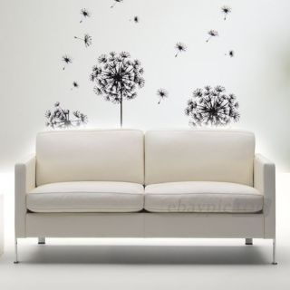 Dandelion Removable Kids Room Art Mural Wall Sticker Decal