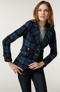 Smythe Plaid Wool Blend Hunting Jacket