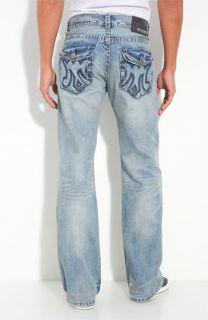 MEK Denim Banda Bootcut Jeans (Light Blue Wash)