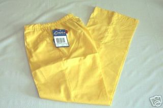 NEW Scrubs * Crest Scrub Pants * XS * Lemon Peel