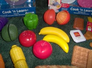 Huge Lot Kitchen Play Food Little Tikes Fisher Price