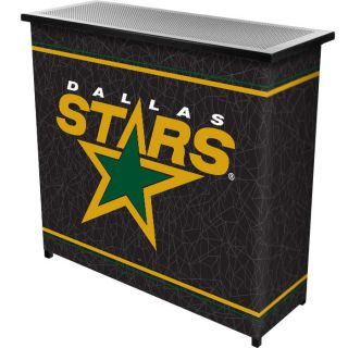 Officially Licensed   NHL Dallas Stars Portable Bar   2 Shelf