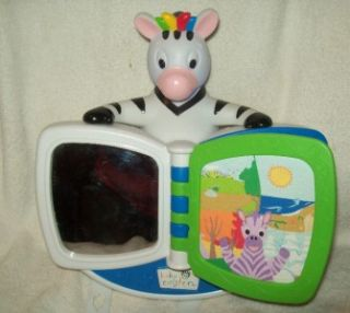 Baby Einstein Babymonet Musical Zebra Crib Toy