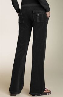 Juicy Couture Terry Patch Pocket Pants
