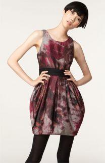 Alice + Olivia Marie Floral Print Dress