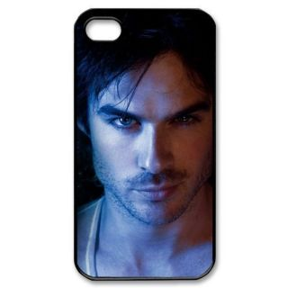 Damon Salvatore The Vampire diaries Fans Black Hard case Apple Iphone