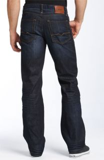 BOSS Orange HB31 Relaxed Straight Leg Jeans (Dark Blue Wash)