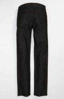 RVCA Regulars Slim Fit Jeans (Black) (Big Boys)