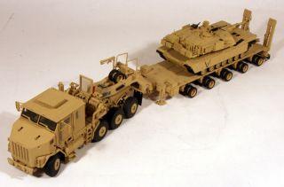 HET M1070 Tractor M1000 Trailer M1 Abrams Tank Load US Army (Tan) 1/50