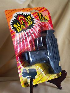 SUPER BANG 8 SHOT UZI GUN JA RU 1987 CAP SMOKING ACTION NO 925 HONG