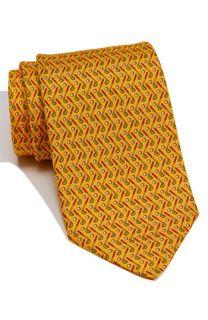 Salvatore Ferragamo Golf Print Silk Tie