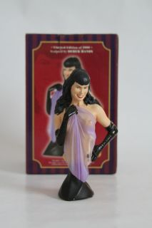 Bettie Page Limited Edition Mini Bust by Derek Handy