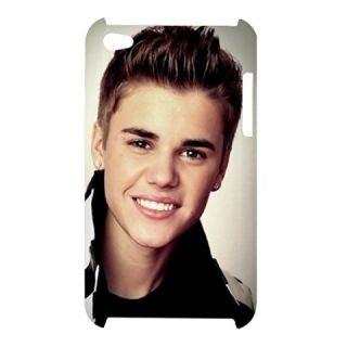 Sexy Justin Bieber Custom Apple iPod Touch G4 Hardshell Case