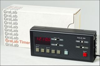 Darkroom Professional Timer   GraLab 505   Extra Nice with Box