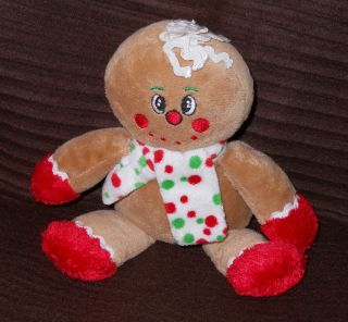 Dan Dee Collectors Choice Soft Gingerbread Man Toy