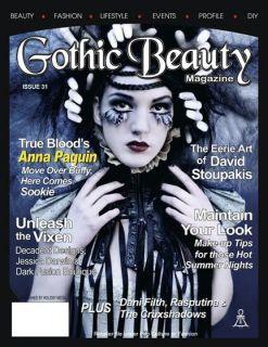 New Gothic Beauty Fashion Magazine Issue 31 2010 Goth
