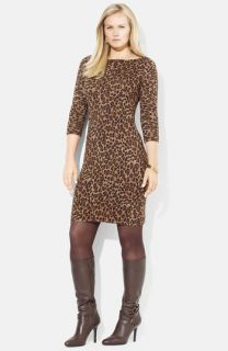 Lauren Ralph Lauren Vine Sweater Dress (Plus)