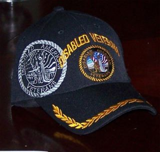 Dav Disabled American Vet Cap War Patriot Hat VFW Vietnam Afgan Iraq