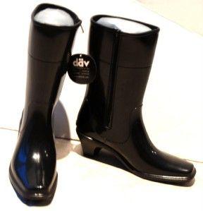 dav fashion rain boots western city large 10 11