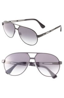 Tods Metal Aviator Sunglasses