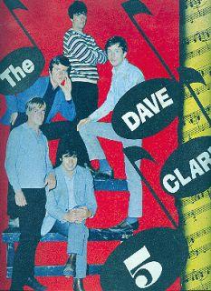 dave clark 5 1965 tour concert program book
