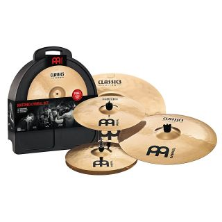 drums percussion cymbals cymbal set meinl classics custom cc141620m