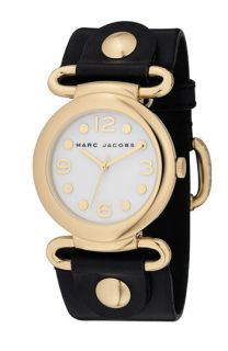 MARC BY MARC JACOBS Molly Leather Round Dial Watch